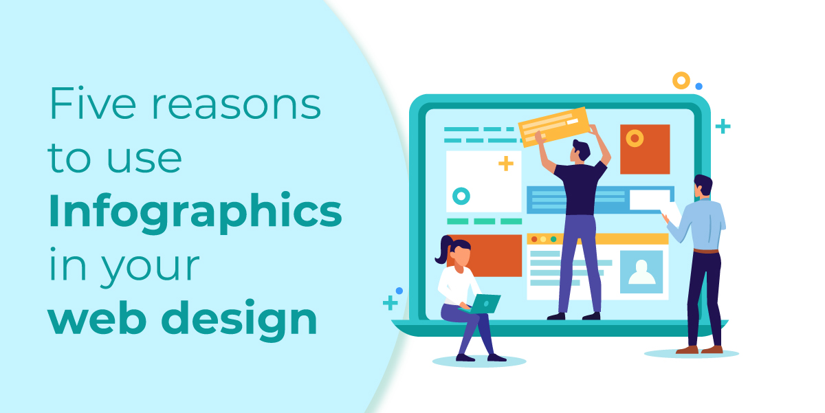 Infographics in your web design
